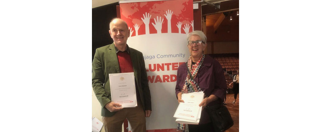 Jagajaga Electorate Community Volunteers Award