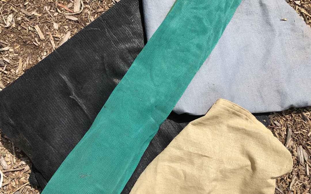 Shade cloth- need, purpose and options