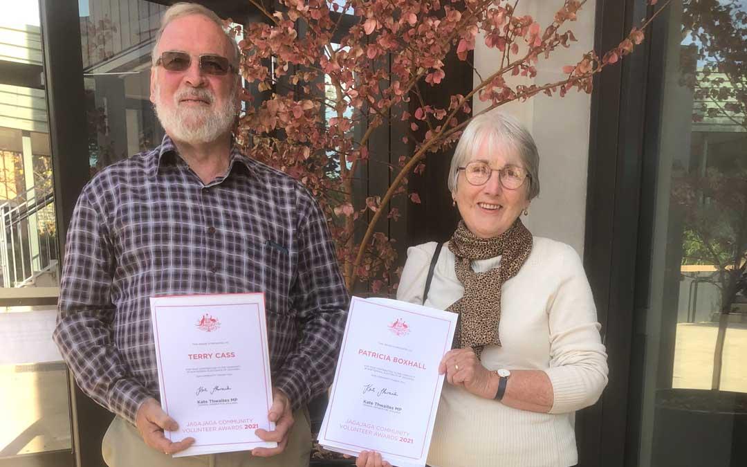 Jagajaga Community Volunteer Awards